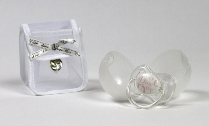Baby Dior Pacifier Pink Collectors Piece Out Of Production