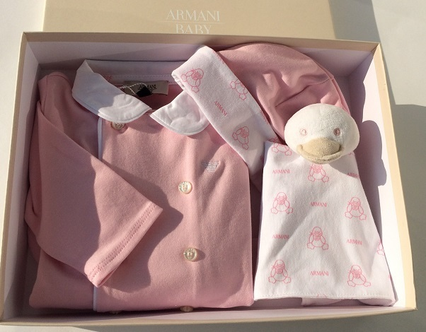 sneakers for cheap 100% quality shop best sellers ARMANI BABY Mädchen Strampler mit Accessoires in ARMANI ...