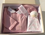 ARMANI BABY girl romper with accessoires in ARMANI presentbox